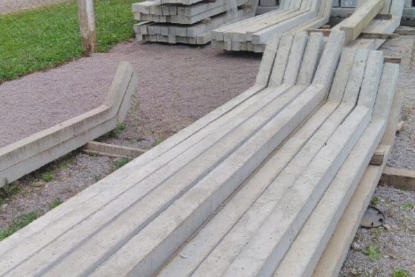 Palanque de concreto Curvo